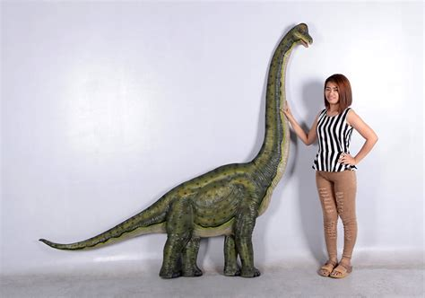 Decorative Statues by Dinosaur Brachiosaurus Wall Decor Statue