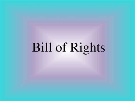 bill of rights section 12 bill of rights section 8 12 14 and 18
