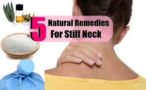 5 best remedies for stiff neck search home remedy
