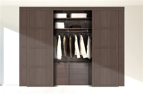 s fitted wardrobe interior storage beech