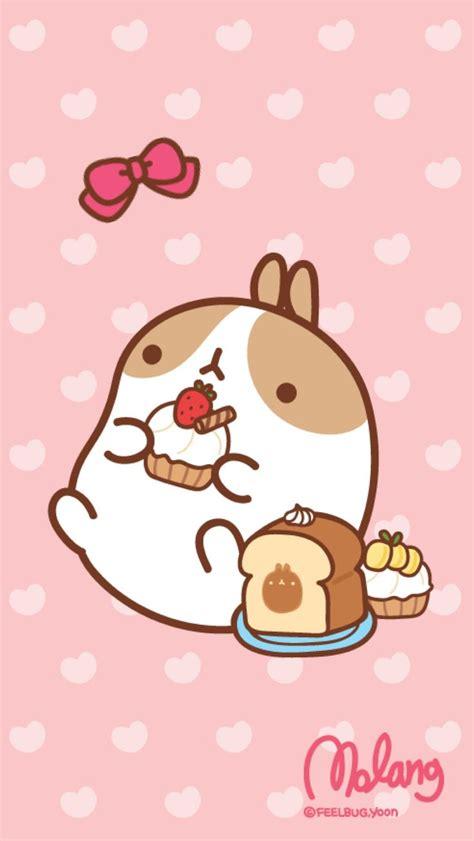 cute wallpaper for your lock screen molang cupcake lock screen kawaii cute pinterest