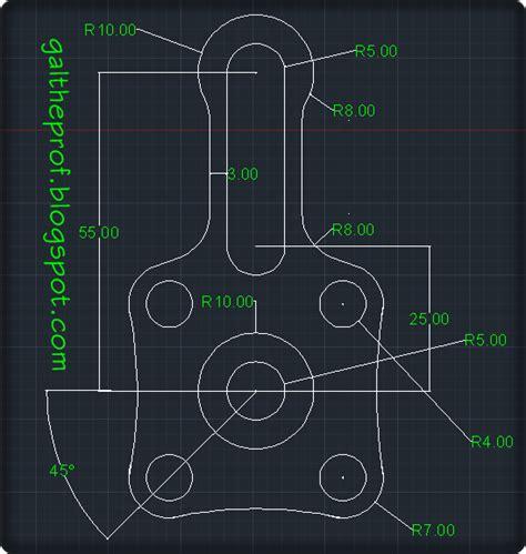 cara membuat gambar 3d autocad 2014 latihan gambar autocad 2d dan 3d pada autocad pemula