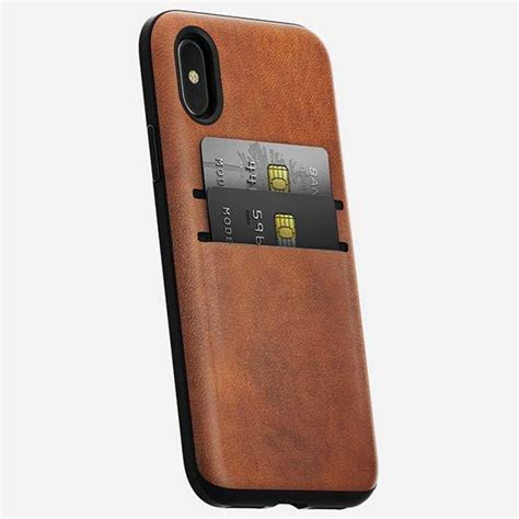 Nomad Wallet For Iphone X nomad wallet iphone x leather gadgetsin