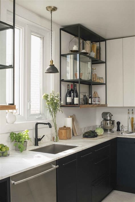 Black Metal Kitchen Cabinets Simple And Stylish Diy Floating Shelves For Your Home
