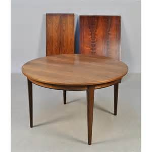 Rosewood Dining Room Set Rosewood Dining Set By Gunni Omann At 1stdibs