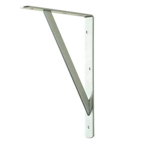 everbilt 12 in x 8 in white heavy duty shelf bracket