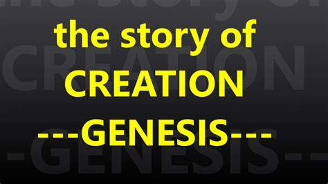 genesis 1 explained holy bible s genesis part 1 the creation genesis