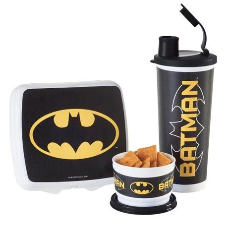 Tupperware Transformer Lunch Set tupperware batman lunch set send your with a healthy meal includes