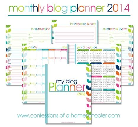 free printable monthly planner 2014 free 2014 monthly blog planner money saving mom 174