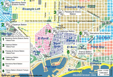 barcelona map tourist attractions barcelona map tourist attractions