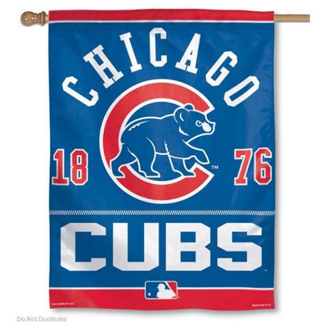 chicago cubs flags sports flags and pennants chicago cubs house flag your chicago cubs house flag
