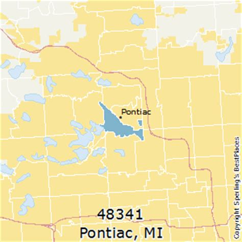 best places to live in pontiac zip 48341 michigan