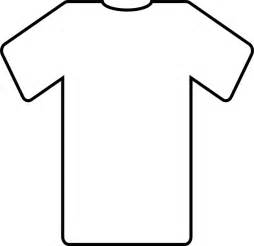 Football Shirt Outline by T Shirt Outline Clipart For Coloring Clipart Best