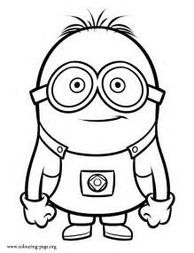 despicable minion coloring pages coloring