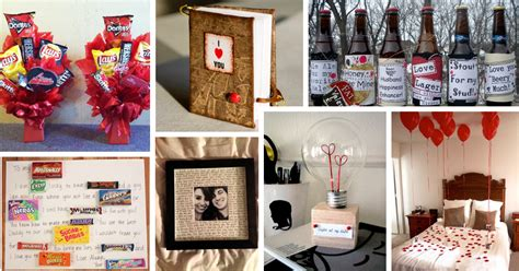 valentines presents for guys 35 unique diy s day gifts for