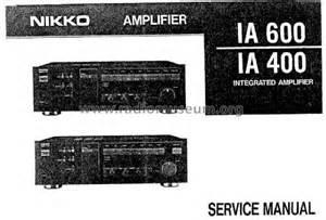 Mixer Nikko integrated lifier ia 600 l mixer nikko electric