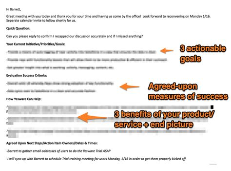 12 Exles Of A Follow Up Email Template To Steal Right Now Yesware Blog Follow Up Email Template