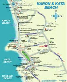 beaches map karon and kata map