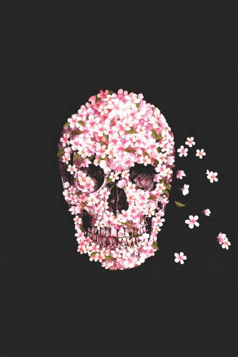 Flower Skull skull flower pictures photos and images for