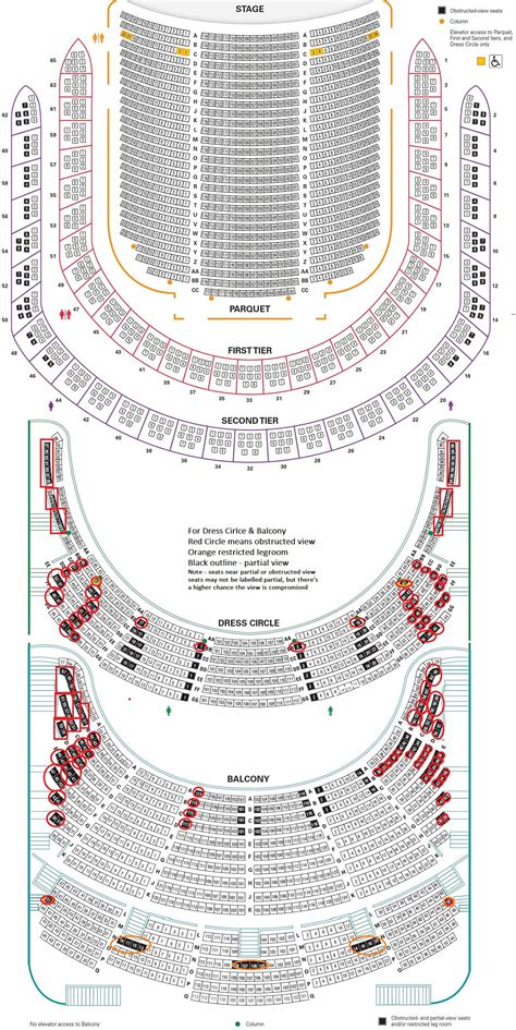 carnegie hall floor plan carnegie hall seating chart new detailed seating chart