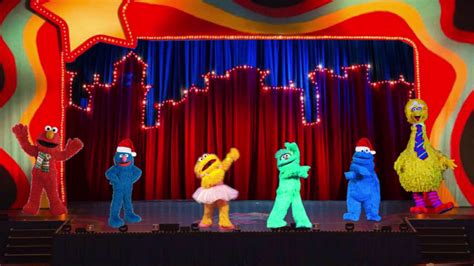 elmos merry christmas  stage show youtube