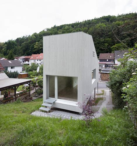 Small Homes Germany This Tiny House Looks Like A Box On Stilts But When I