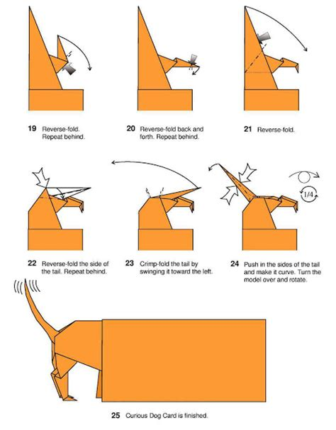 Origami For Dummies - origami origami curious card