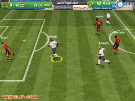 Osbourne Flashed At World Cup by The 45 Minutes Of A Soccer Free Software And