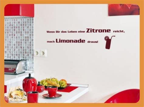 Aufkleber Entfernen Zitrone by Wandtattoo Spr 252 Che Wenn Dir Das Leben Eine Zitrone Reic Ebay