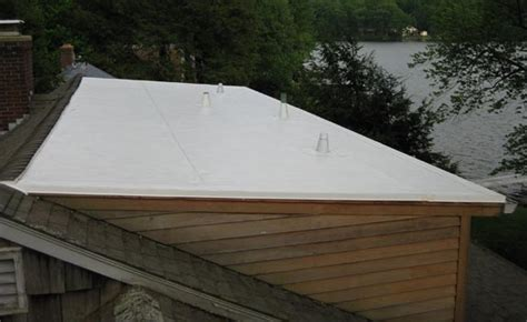 Flat and Low Slope Roofing on Shed Dormers   Cool Flat