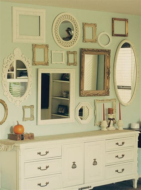 wall of mirrors useful ideas and layouts to create a photo gallery wall