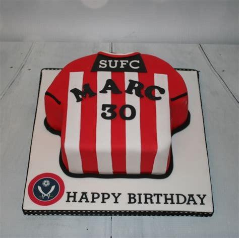 sheffield united shirt cake  birthday