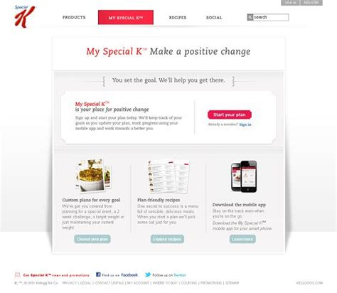 special k diet challenge 7 great free diet plans diet