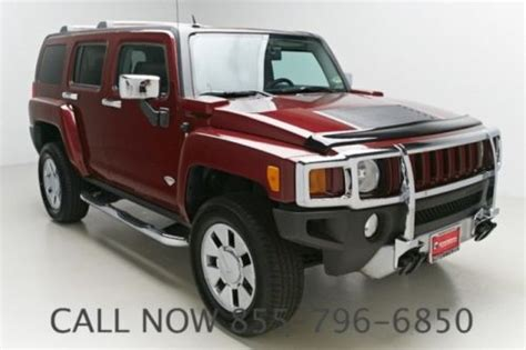 how to fix cars 2008 hummer h3 seat position control find used 2008 hummer h3 alpha 101k miles sunroof cruise leather seat clean carfax in grand
