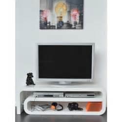 arobase meuble tv 129cm laqu 233 blanc achat vente meuble