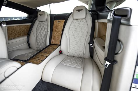 bentley continental interior back seat bentley continental gt w12 review autoevolution