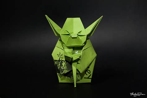 Yoda Origami - bookivore the strange of origami yoda
