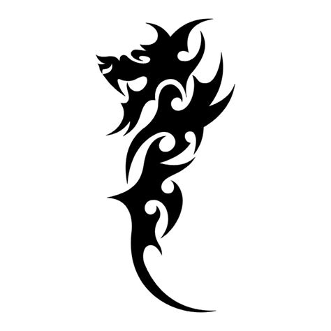 tattoos dragon tattoo stencils 1