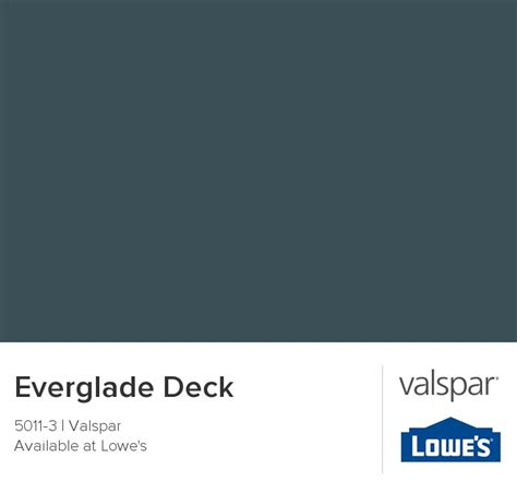 everglade deck from valspar bedroom redo