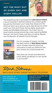 rick steves snapshot northern ireland books themapstore rick steves snapshot northern ireland