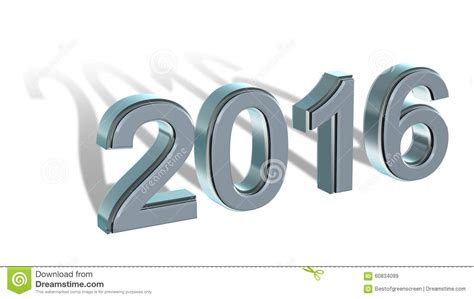 new year 2016 white background new year 2016 coloured 3d numbers on a white background