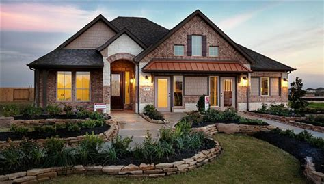 Beazer Home Floor Plans by Pine Creek At Canyon Lakes West Cypress Tx New Homes