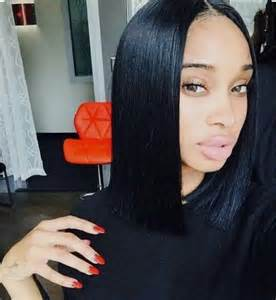 bob hairstyle part in middle the hottest celebrity hair trend centre part bob