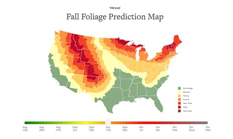 fall colors 2017 an interactive map that helps predict the best time to see