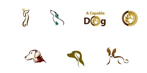 Designideas logo design for a capable dog see work global reach