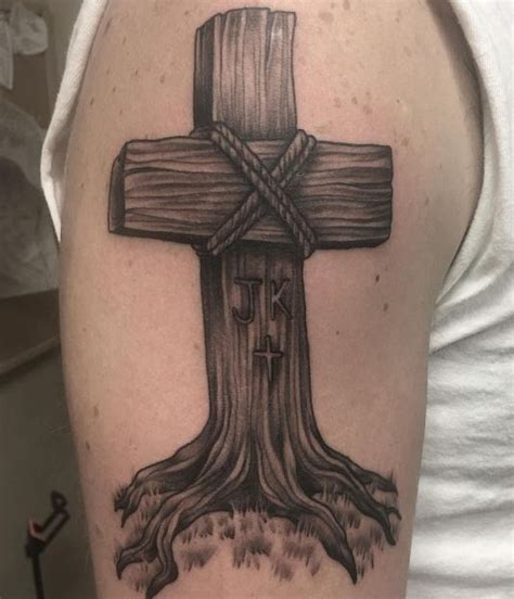 unique cross tattoos for men 50 unique cross tattoos for and 2017