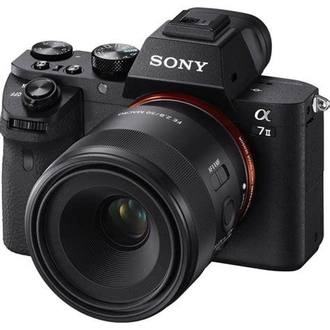 Sony Fe 50mm F 2 8 Macro sony fe 50mm f 2 8 macro lens officially announced price 498