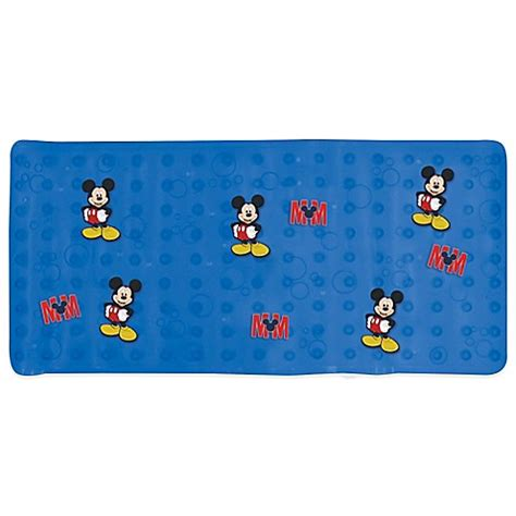 Disney Mickey Mat - buy disney 174 mickey mouse bathtub mat from bed bath beyond