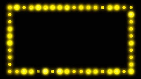 Marquee Border Lights Hd Video Background Loop Youtube Marquee Lights