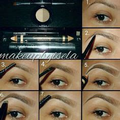 tutorial eyeliner stencil eyebrow tutorial using anastasia beverly hills brow